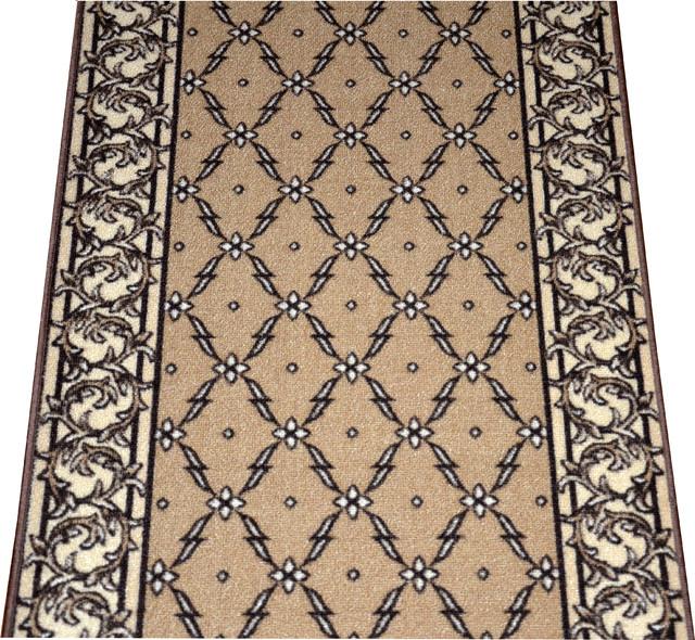 dean flooring company trellis beige carpet rug hallway runner 5u0027