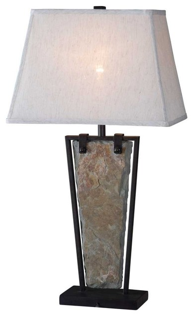 Kenroy Home Free Fall 30 Inch High Table Lamp.