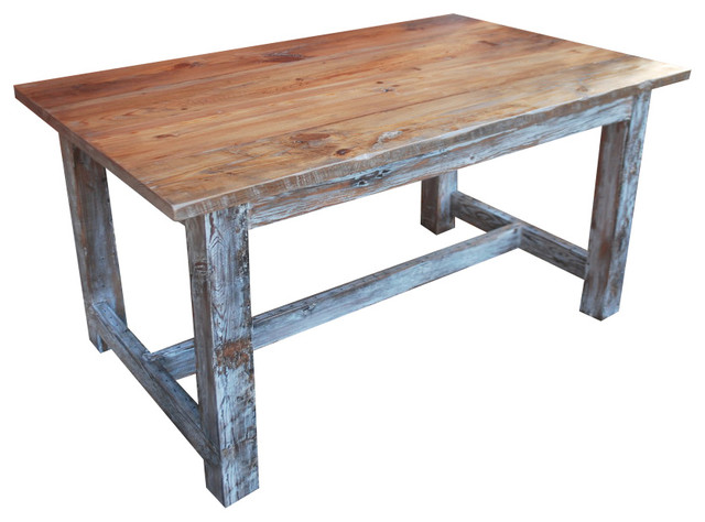 "Stock Stout Trecher, 5""x30"" - Farmhouse - Outdoor Dining Tables - by Wain Green Wood"