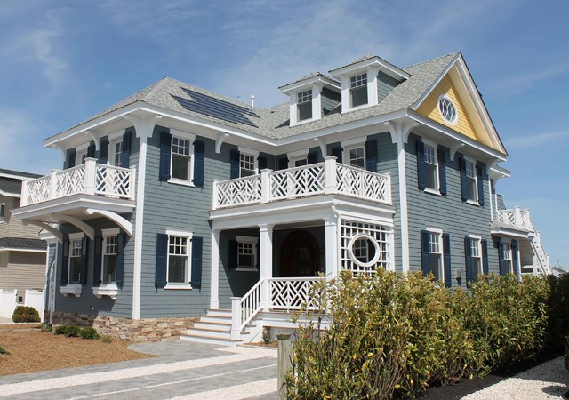 Avalon Nj Beach House On The Bay Style Exterior