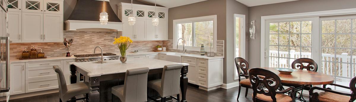 Gorgeous Kitchen Renovation In Potomac Maryland: Potomac DREAM White Kitchen Renovation