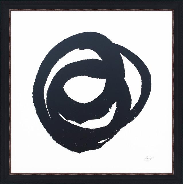 """Kinetic"" Framed Print, 65x65 cm, ""Circular Kinetic"""