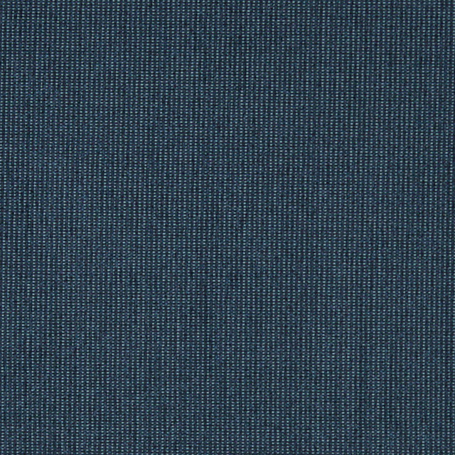 Blue Textured Chenille Contract Grade Upholstery Fabric By
