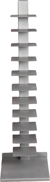 Spine Book Tower, Silver