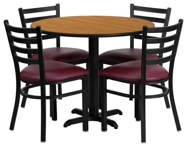 36 Round Espresso Dining Table G Plan
