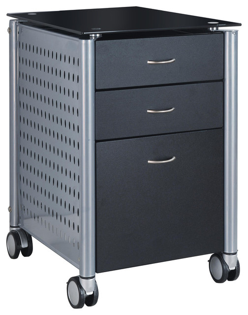 Innovex Archive Filing Cabinet - Contemporary - Filing Cabinets ...