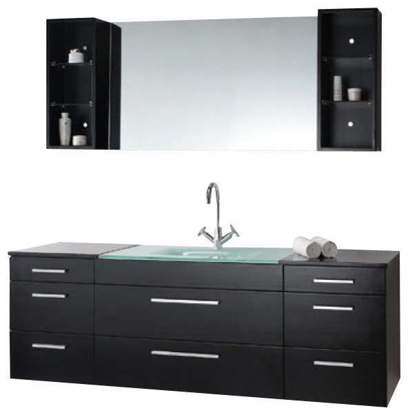 Shop Houzz Virtu Usa Inc 63 Inch Modern Single Sink