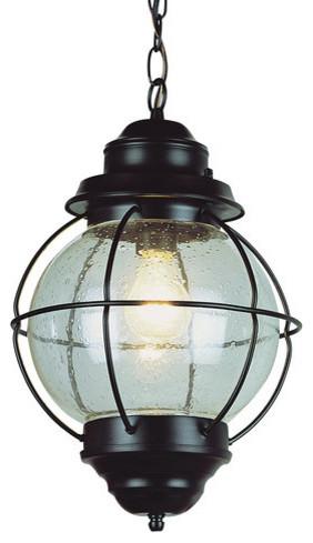 Trans Globe Lighting 69906 Modern 1 Light Small Outdoor Pendant Hanging Lights