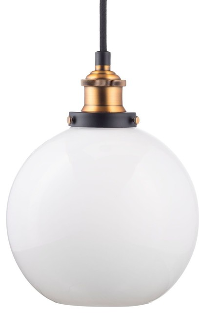 Contemporary Ceiling Light Seeded Gl Pendant Brushed Nickel