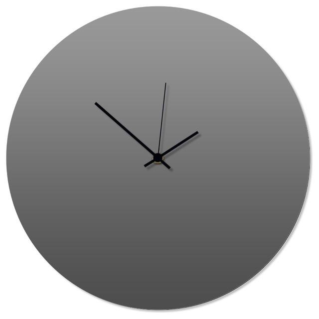contemporary kitchen clocks contemporary clock grayout black circle clock artisanmade gray kitchen