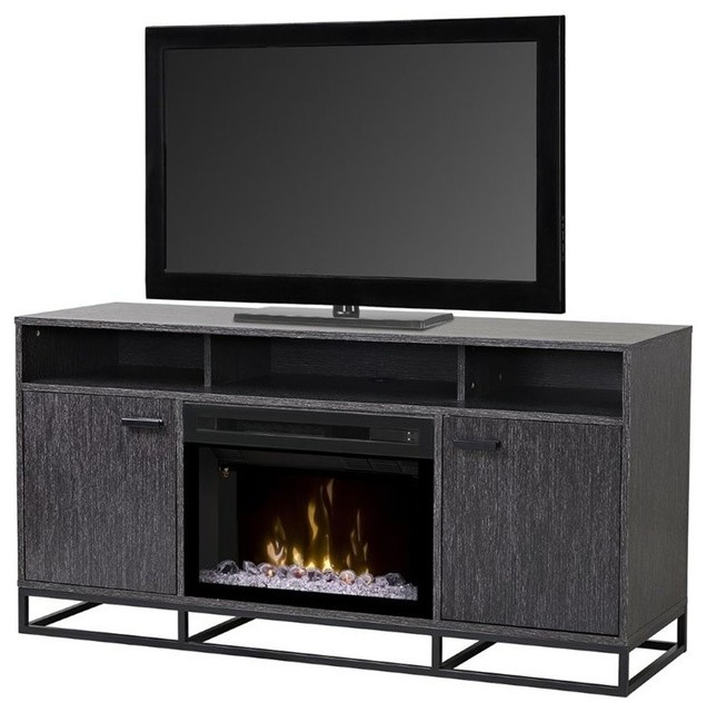 Dimplex Reily 25 Quot Fireplace Tv Stand Gray Cerused