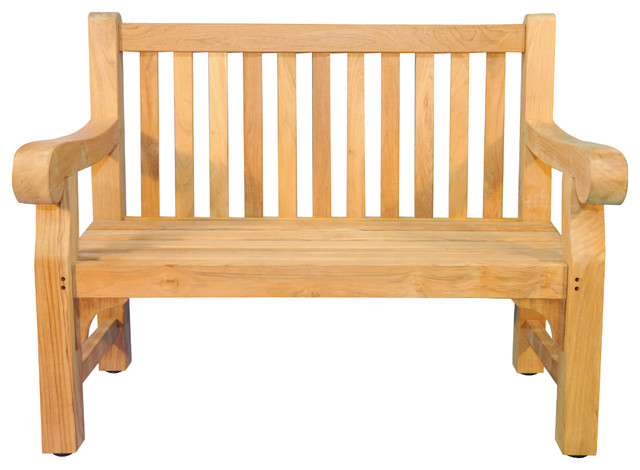 Hyde Park Bench Teak 4, Hyde Park Outdoor Furniture