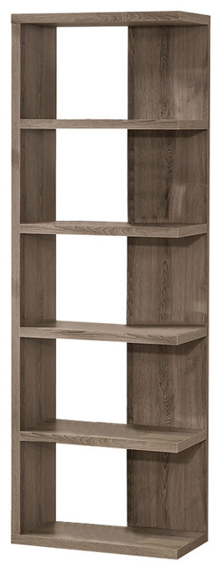 Coaster Bookcase, Weathered Gray.