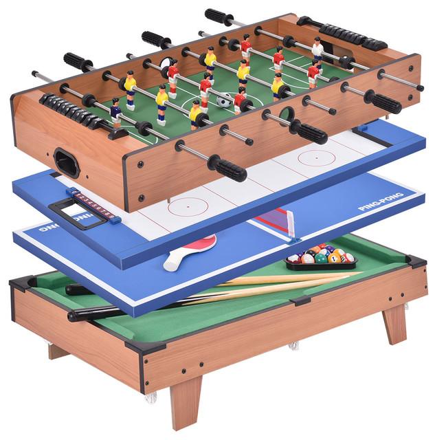 4 In 1 Multi Game Air Hockey/Table Tennis/Pool Table