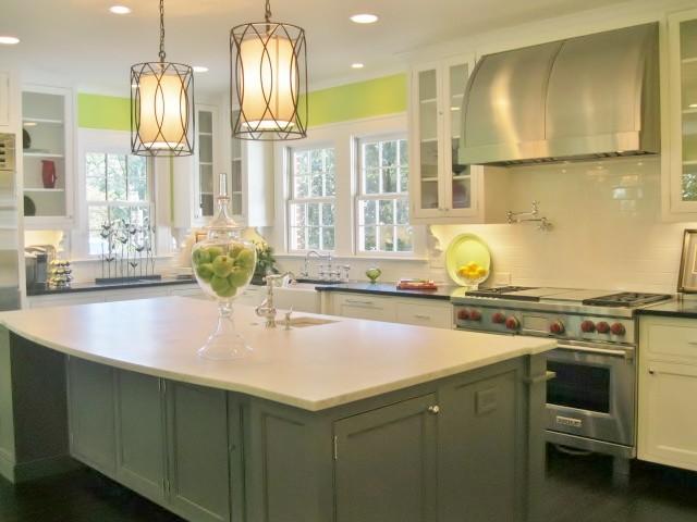 Bright & Open Kitchen - Modern - Kitchen - Charlotte - by Guthmann ...