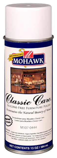 Charming Mohawk Classic Care Furniture Polish Aerosol 13 Oz  Traditional Household Cleaning Products