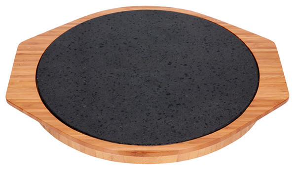 Stone Pizza Pan : Steakstones pizza stone pans and stones houzz