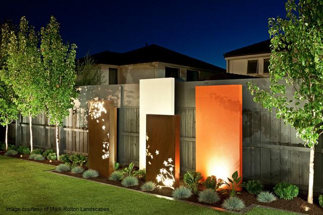 Backyard Garden Sculptures (metal Art) Modern