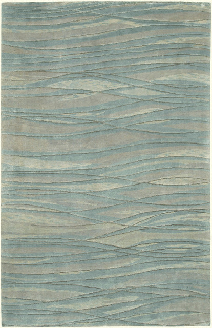 Shop Houzz Surya Surya Shibui Sh 7406 Blue Gray Mint Rug
