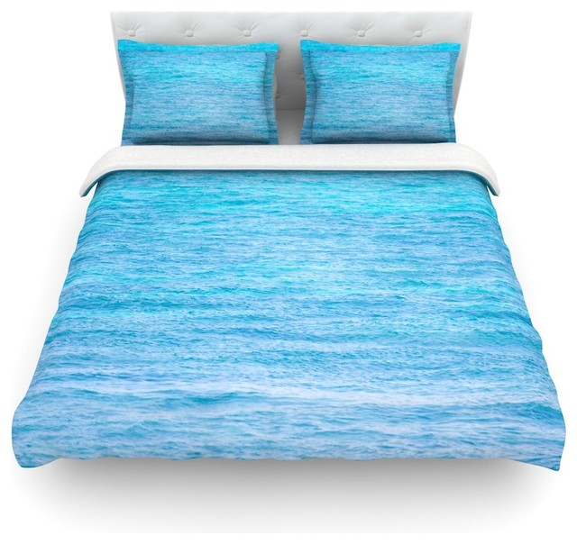 ocean queen itm cotton bedding about duvet cover three beach piece full set twin details blue