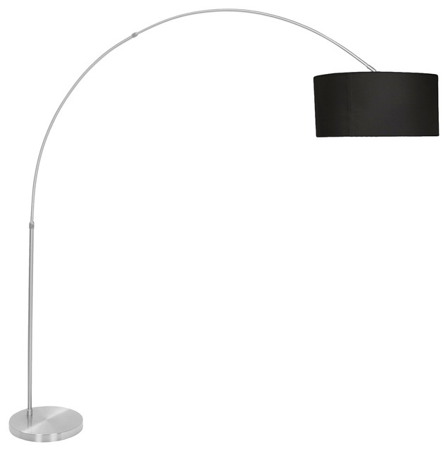 Salon Floor Lamp Color, Black.
