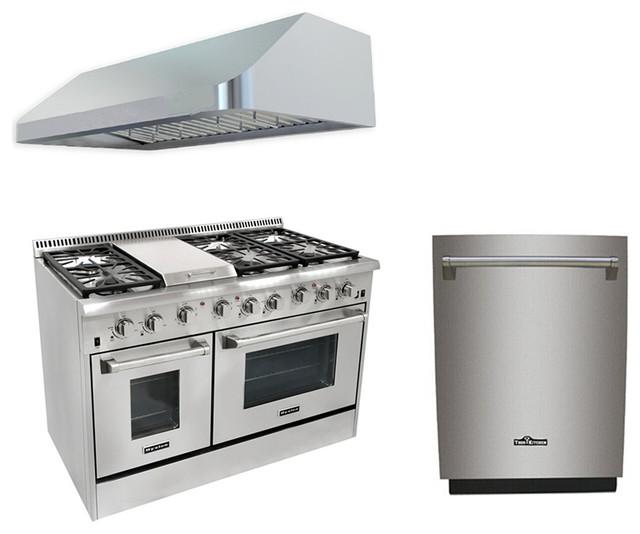 6 burner gas range with double oven range hood - 6 Burner Gas Range