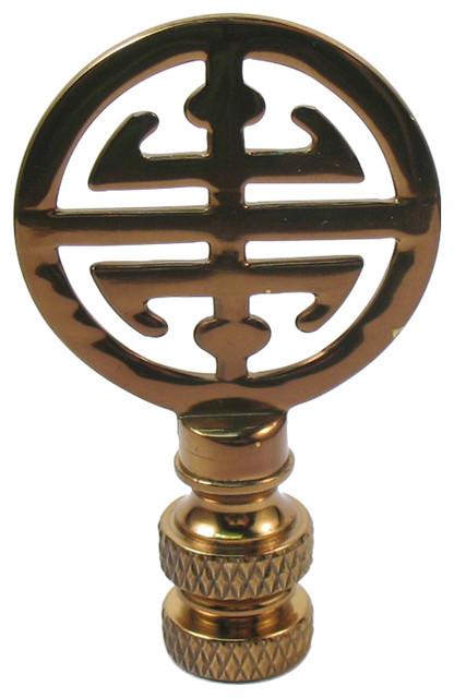 Small Symbol Lamp Finial.