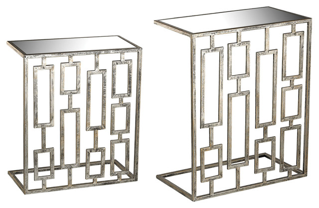 Shop Houzz ELK Group International Silver Consoles Set  : transitional console tables from www.houzz.com size 640 x 418 jpeg 75kB