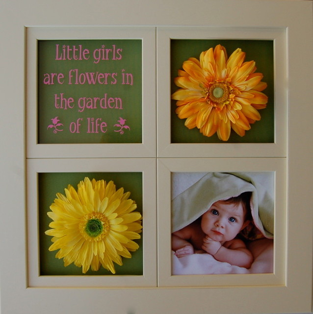 window pane collage frame 8x8 openings ivory rustic picture frames