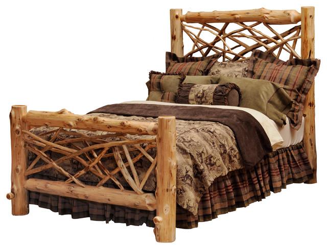 cedar twig log headboard, traditional cedar, king  rustic, Headboard designs