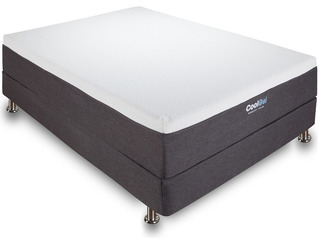 "Classic Brands Cool Gel 12"" Ventilated Gel Memory Foam Mattress, Queen. -2"
