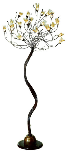 Bellart Soffio Wrought Iron Standing Lamp.