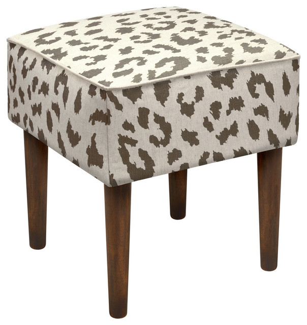 Cheetah Modern Vanity Stool Contemporary Vanity Stools And Benches By 123 Creations