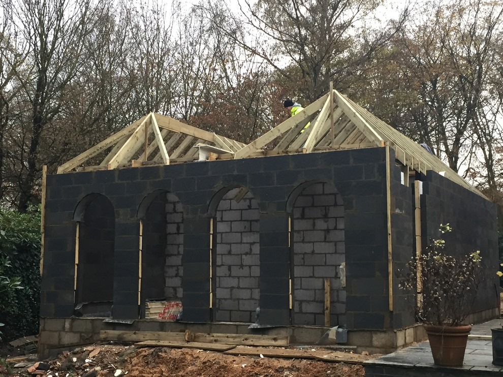 New Build Sunroom And Workshop