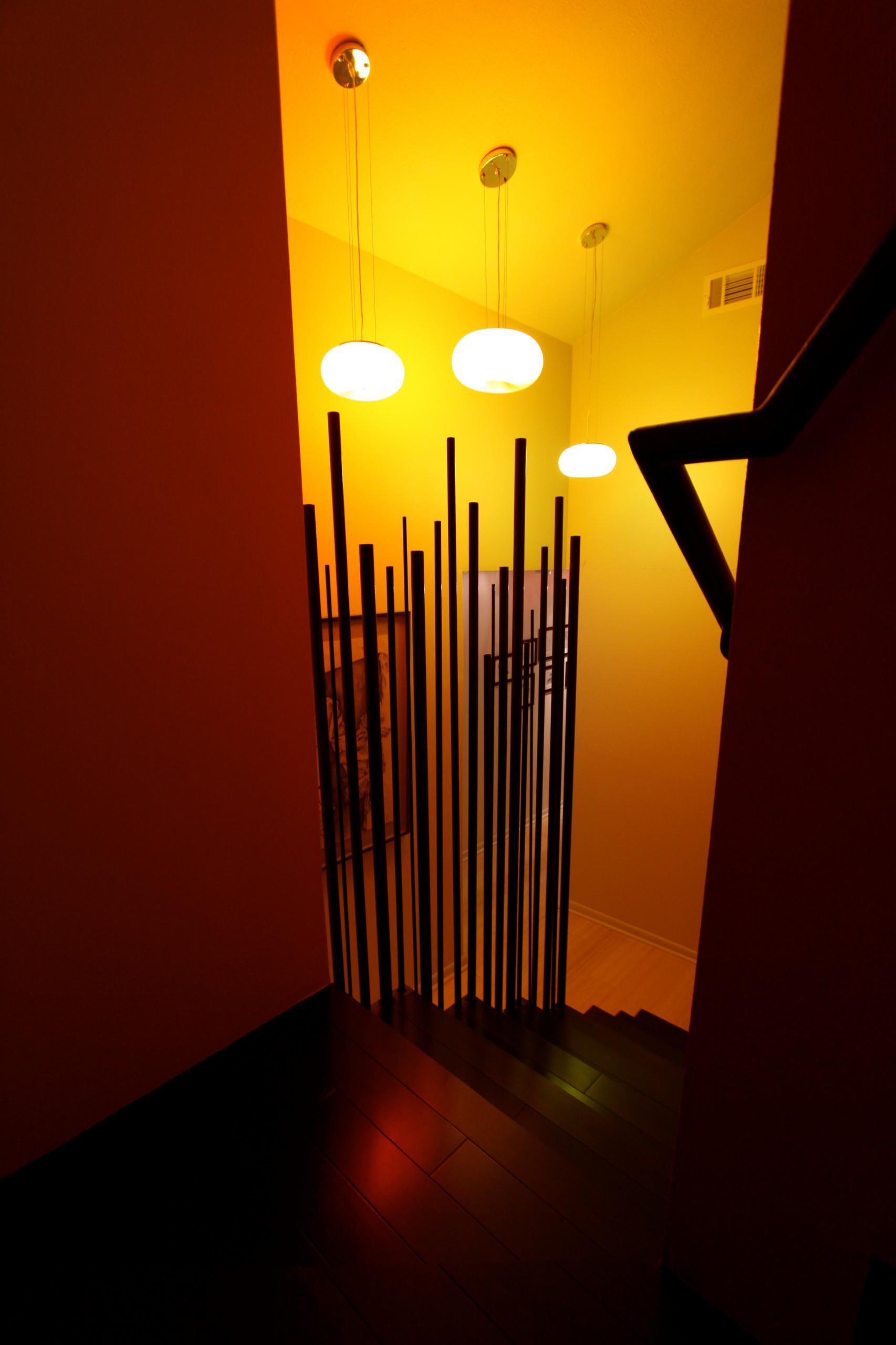 Bamboo Staircase