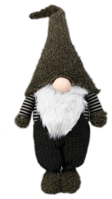 """Nadir"" Standing Holiday Gnome, 27.5""x11""x6.25"""
