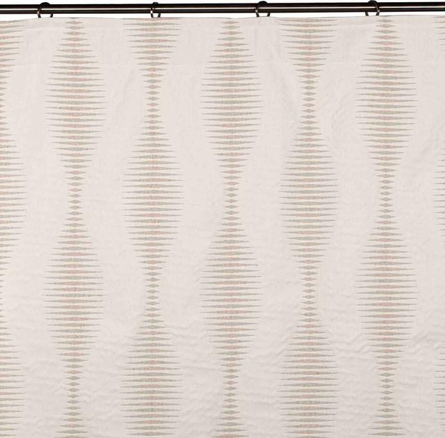 "Curtain Lodge, Off-White, 57.9""x118.1"""