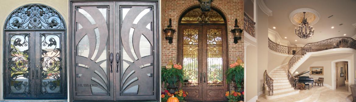 Beautiful Hubbard Iron Doors