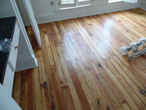 3 14 Antiquereclaimed Heart Pine Flooring For Sale 289sq Ft