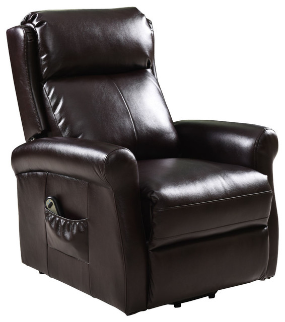 Costway Electric Lift Power Chair Recliners Chair Remote Living Room Furniture by Costway