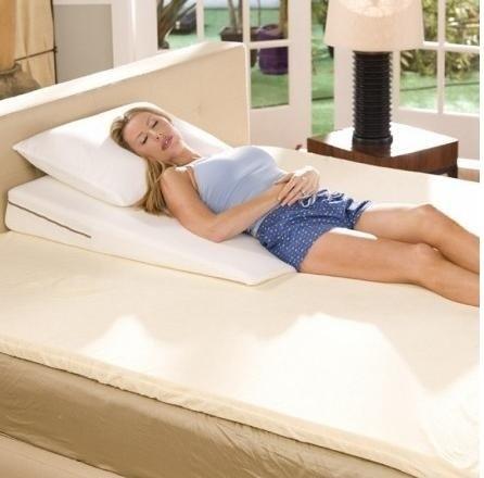 Memory Foam Mattress Cover Queen Avana Slant Memory Foam Bed Wedge Queen 30x6 - Bed Pillows ...