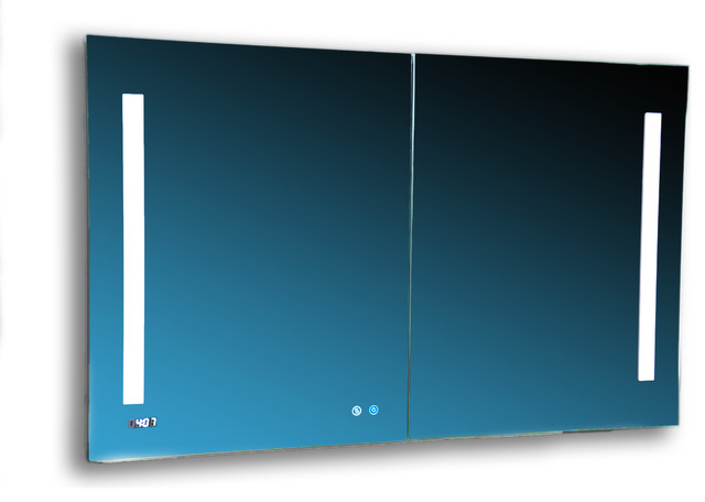 "Aquadom 48"" X 40"" Signature Royale 3d Led Lights Medicine Cabinet/defogger."