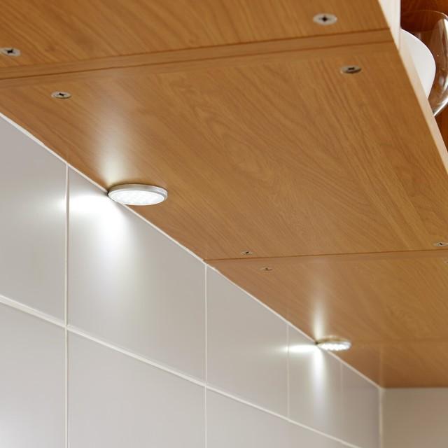 Led under cabinet lighting b q lilianduval