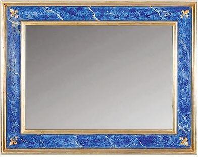 Square Classic Mirror, Gold.