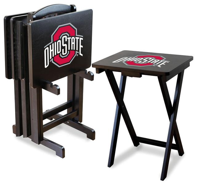 Ohio State Buckeyes Folding TV Tray Tables