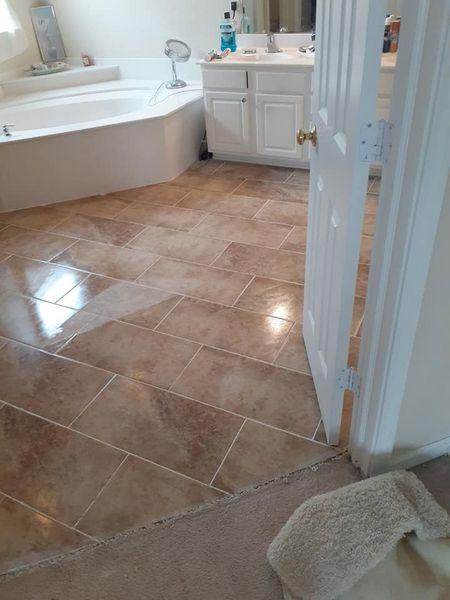 Bathroom Floor Ceramic Tile