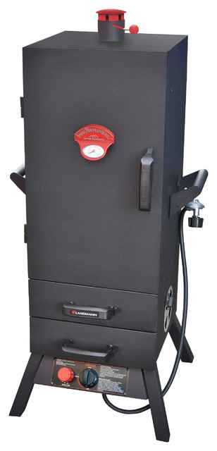 "38"" Gas Easy Access 2 Drawer Vertical Smoker."
