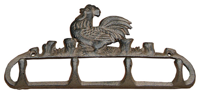 Rooster Coat Hook Cast Iron.