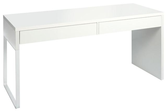 Touch Reversible Desk, Bright White