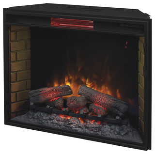 Infrared Electric Fireplace Insert 33 Traditional Indoor Fireplaces By Addco Electric